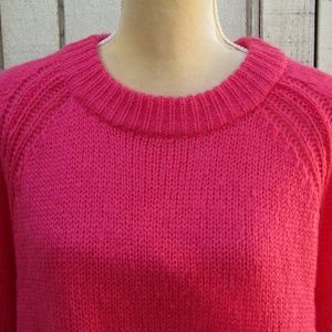 A.N.A. NWT sz XXL pink pullover sweater l/s cozy